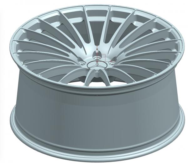Изготовили кованые диски для Mercedes GLS X167