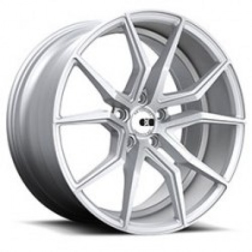 XO Luxury Wheels VERONA SILVER W/BRUSHED FACE