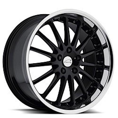 Coventry Whitley GLOSS BLACK W/MIRROR CUT LIP